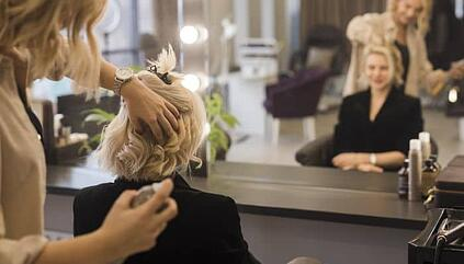 How a Luxury chain of salons simplified the way their stylists request help from different departments